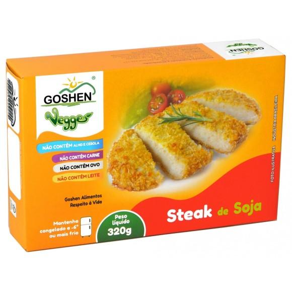 Steak de Soja Vegana 320g - Goshen