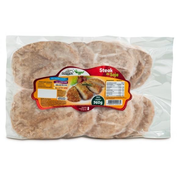 Steak de Soja Vegana 960g - Goshen