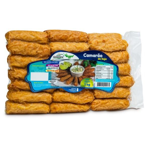 Camarão de Soja Vegana 1kg - Goshen