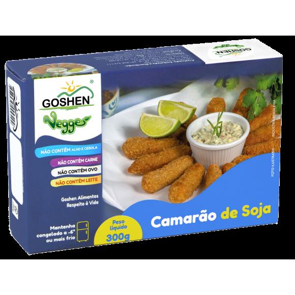 Camarão de Soja Vegano 300g - Goshen