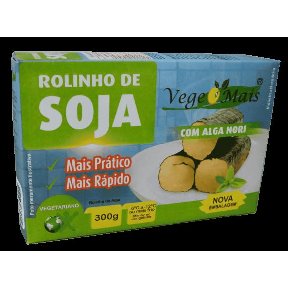 Rolinho de Soja – Vegemais